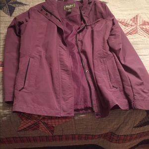 Eddie Bauer rain coat large